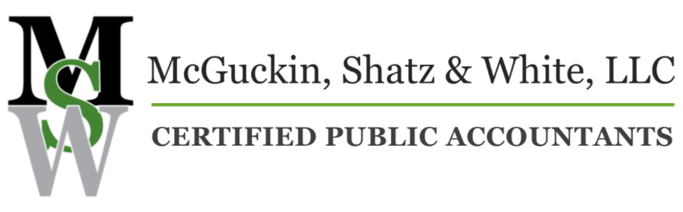 Mcguckin Shatz White Llc Certified Public Accountants Irs